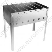 "Barbeque ""Econom"" + 6 spiedini 40x25x40cm"
