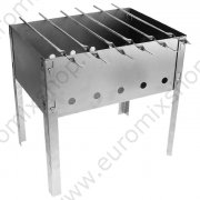 Barbeque + 6 spiedini 35x25x35cm