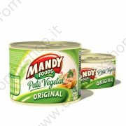 "Pate' vegetale originale ""Mandy"" (200g)"