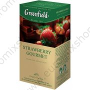 "Чай ""Greenfield"" Strawberry Gourmet (25х1,5г)"